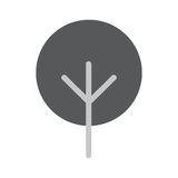 Tree Flat Vector Icon. Tree Icon in trendy flat style  on whie background. Tree symbol for your web design, logo, UI. Vector illustration, EPS10 Stock Photos