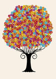 The Tree of Flowers. Stock Photography