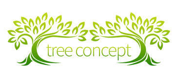 Tree Forest Concept Stock Photography