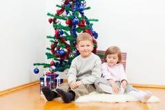 Tree för nytt år Arkivbilder