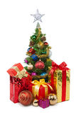 Tree&gift boxes-30 do Natal Imagem de Stock