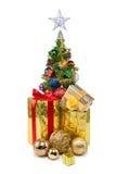 Tree&gift boxes-31 Кристмас Стоковая Фотография