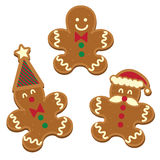 Tree Gingerbread man Stock Image