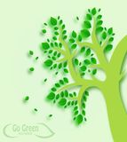 Tree Go Green Concept Stock Photography