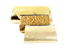 Tree golden clutch Royalty Free Stock Image