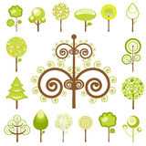 Tree graphics vector Stock Photo