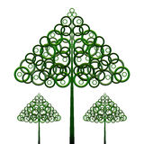 Tree green growth plant. Tree  fir-tree green growth plant forest icon Stock Images
