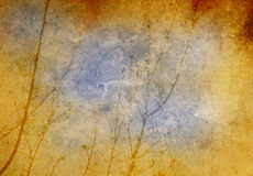 Tree grunge background Stock Photos