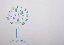 Tree handmade Royalty Free Stock Image