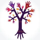 Tree_Hands-01-02 Royalty Free Stock Photo