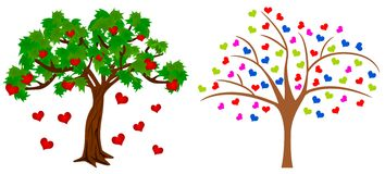 Tree of heart Royalty Free Stock Images