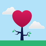 Tree Heart Stock Photography