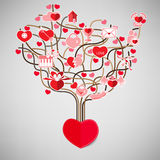 The Tree Heart Valentine's day, Stock Photos