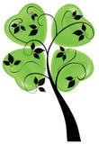Tree with hearts Royalty Free Stock Photo