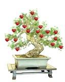 Tree of hearts Royalty Free Stock Photo