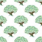Tree of hope pattern seamless Stock Photos