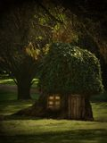 Tree House. In the forest royalty free illustration