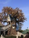 Tree house Stock Image