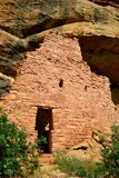 Tree house ruins, Mesa Verde Royalty Free Stock Photography