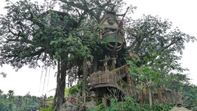 The tree house. Stock Image