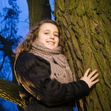 Tree hugger Stock Images