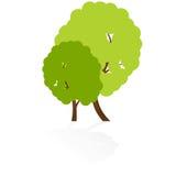 Tree icon Royalty Free Stock Photo