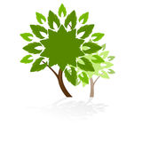 Tree icon royalty free stock image