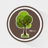 Tree icon Stock Images