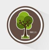Tree icon Stock Images