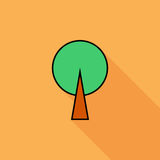 Tree icon Royalty Free Stock Photos