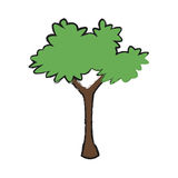 Tree icon image Royalty Free Stock Photo