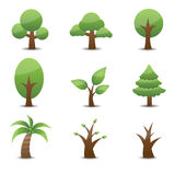 Tree Icon. This image is a vector illustration.Tree Icon Royalty Free Stock Photography