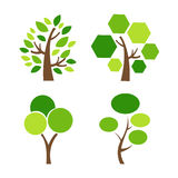 Tree Icon vector illustration Royalty Free Stock Photo