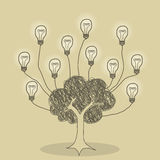 Tree of Ideas Royalty Free Stock Image
