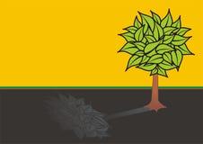 Tree illustration Stock Photos