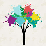 Tree illustration Stock Photo