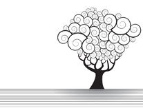 Tree illustration Stock Images