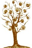 Tree decorative vector illustration eps10 jpg stock illustration