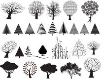 Tree Illustrations Royalty Free Stock Photos