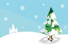 Tree In Winter Royalty Free Stock Photos