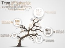 Free Tree Infographic Flat Style Brown Royalty Free Stock Photo - 99607955