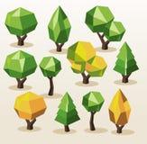 Tree Isometric set. Stock Photography