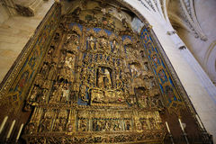 Tree of Jesse in Burgos Cathedral Royalty Free Stock Image