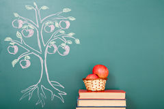 Tree of knowledge Stock Photo