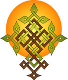 Tree of Life. Tree shaped cross, symbol of eternal life, renewal, reincarnation and resurrection Stock Photography