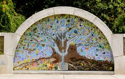 The Tree of Life at the Cancer Survivors Park Royalty Free Stock Images
