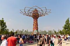 Tree of life expo Stock Photography