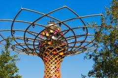 Tree of Life - Expo Milano 2015 Royalty Free Stock Image