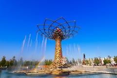 Tree of Life - Expo Milano 2015 Royalty Free Stock Photography