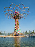 Tree of life at Expo 2015 Stock Photos